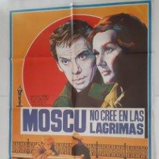 Cine: ANTIGUO CARTEL CINE MOSCU NO CRE EN LAS LAGRIMAS OSCAR 1981 RV P90. Lote 267746479