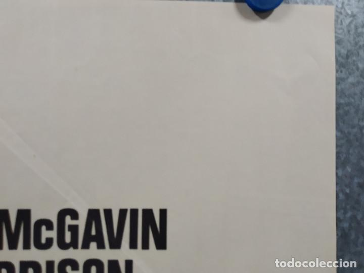 Cine: Vidas en peligro. Darren McGavin, Sean Garrison. AUTOMOVILISMO. AÑO 1974. POSTER ORIGINAL - Foto 4 - 267760454