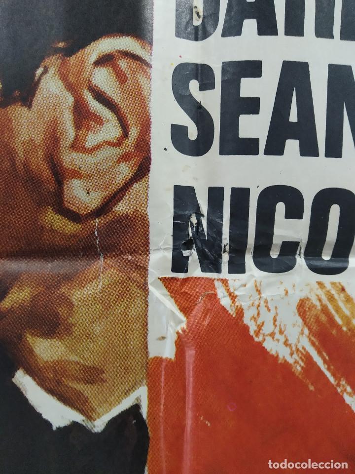 Cine: Vidas en peligro. Darren McGavin, Sean Garrison. AUTOMOVILISMO. AÑO 1974. POSTER ORIGINAL - Foto 8 - 267760454