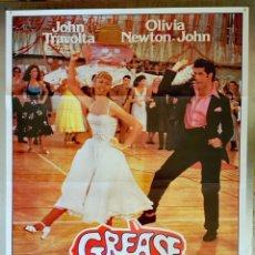 Cine: GREASE (BRILLANTINA) - 70 X 100 - 1978. Lote 267783139