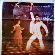 Cine: LA FIEBRE DEL SABADO NOCHE - 1977 - 70 X 100. Lote 267783379