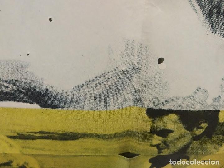 Cine: Furia en bahía. Frederick Stafford, Myléne Demongeot AÑO 1965. POSTER ORIGINAL - Foto 6 - 268122019