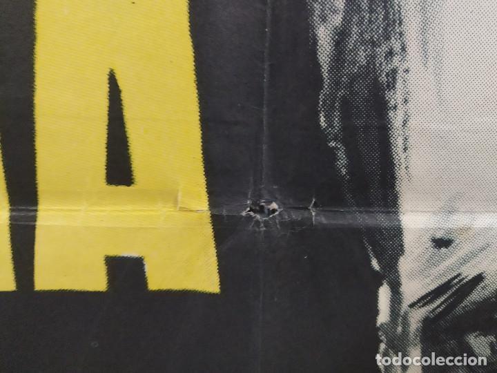 Cine: Furia en bahía. Frederick Stafford, Myléne Demongeot AÑO 1965. POSTER ORIGINAL - Foto 7 - 268122019