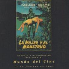 Cine: SUBASTA EXTRAORDINARIA DEDICADA AL MUNDO DEL CINE. CARTELES DE CINE. DURÁN SUBASTAS. Lote 268431884