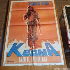 Cine: CARTEL ORIGINAL DE KEOMA, 1977, 100 X 70 CM, PLEGADO.. Lote 268442034