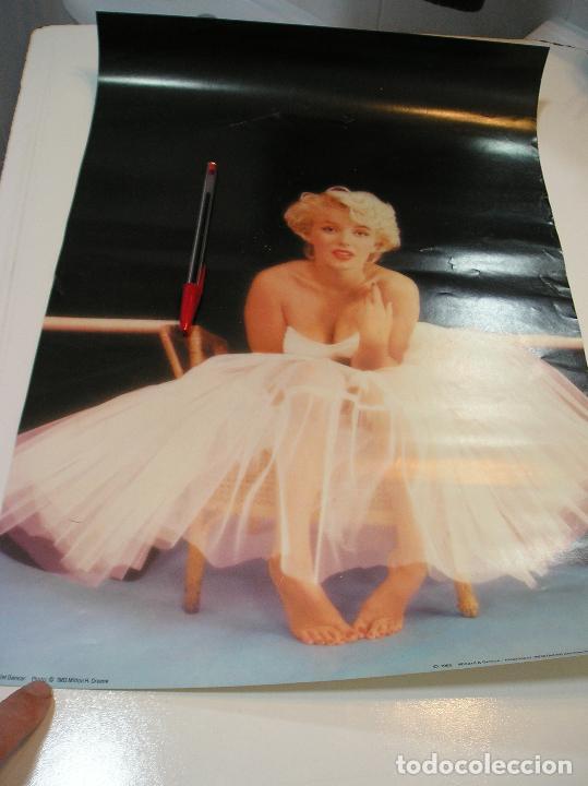 ANTIGUO POSTER MARILYN 49 POR 34 1985 (Cine - Posters y Carteles - Comedia)