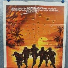 Cine: LOS CHICOS DE LA COMPAÑÍA C. STAN SHAW, ANDREW STEVENS, AÑO 1982 POSTER ORIGINAL. Lote 268570439
