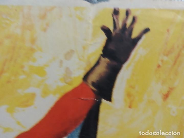 Cine: Los 3 Supermen en la selva. George Martin, Salvatore Borghese. POSTER ORIGINAL - Foto 3 - 268570809