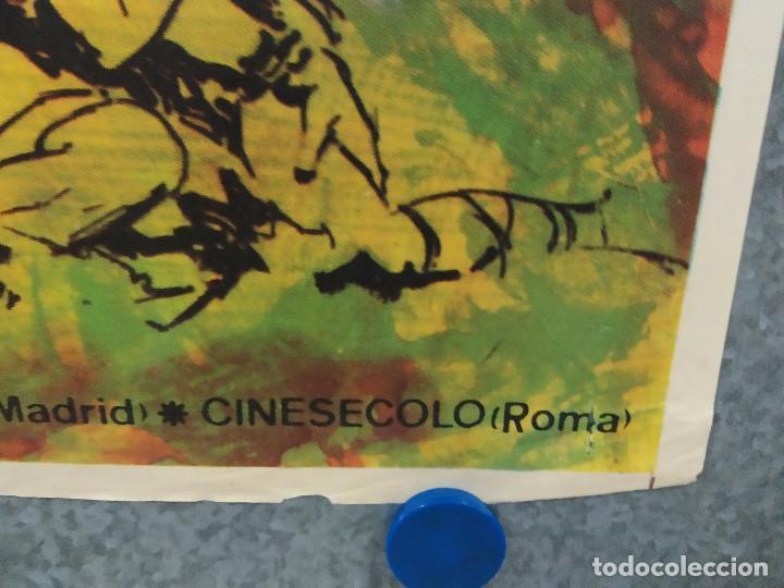 Cine: Los 3 Supermen en la selva. George Martin, Salvatore Borghese. POSTER ORIGINAL - Foto 5 - 268570809