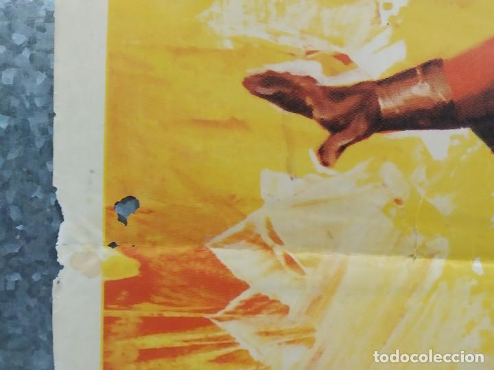 Cine: Los 3 Supermen en la selva. George Martin, Salvatore Borghese. POSTER ORIGINAL - Foto 7 - 268570809
