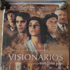 Cine: VISIONARIOS - APROX 70X100 CARTEL ORIGINAL CINE (L87). Lote 268725409
