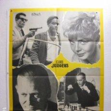 Cine: JUGADA DECISIVA - POSTER CARTEL ORIGINAL - CURD JURGENS JANET MUNRO CY ENDFIELD AJEDREZ - L. Lote 268732829