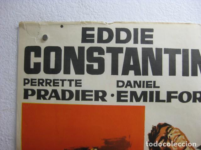 Cine: jeff gordon ataca - poster cartel original - Des frissons partout eddie constantine - hermida - L - Foto 2 - 268734094