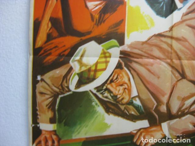 Cine: jeff gordon ataca - poster cartel original - Des frissons partout eddie constantine - hermida - L - Foto 3 - 268734094