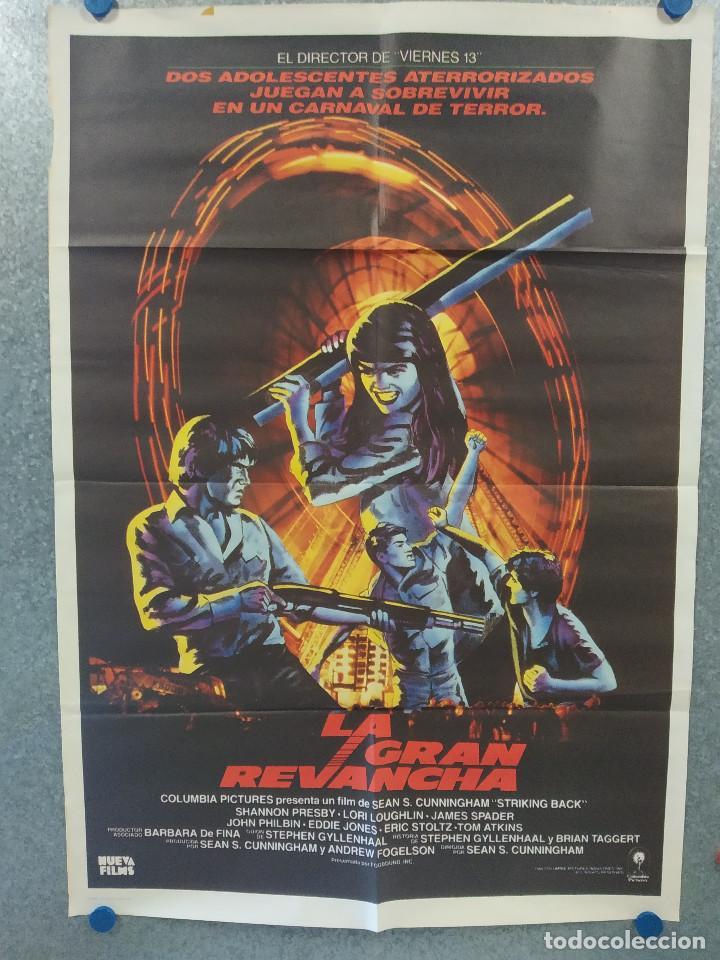 LA GRAN REVANCHA. LORI LOUGHLIN, SHANNON PRESBY, JAMES SPADER AÑO 1984. POSTER ORIGINAL (Cine - Posters y Carteles - Suspense)