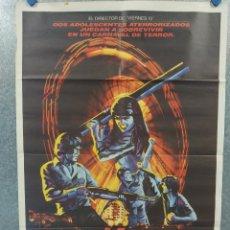 Cine: LA GRAN REVANCHA. LORI LOUGHLIN, SHANNON PRESBY, JAMES SPADER AÑO 1984. POSTER ORIGINAL. Lote 268770929