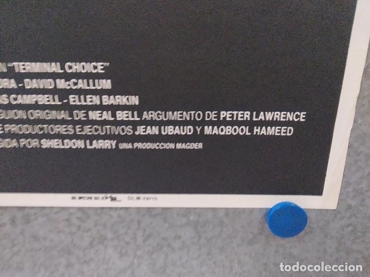 Cine: Decisión final. Joe Spano, Diane Venora, David McCallum. POSTER ORIGINAL - Foto 4 - 268772629