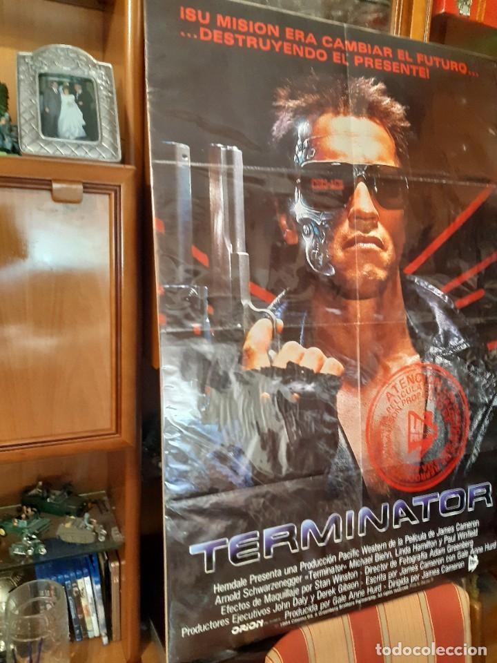 CARTEL TERMINATOR 1984 CINE POSTER PELICULA (Cine - Posters y Carteles - Acción)