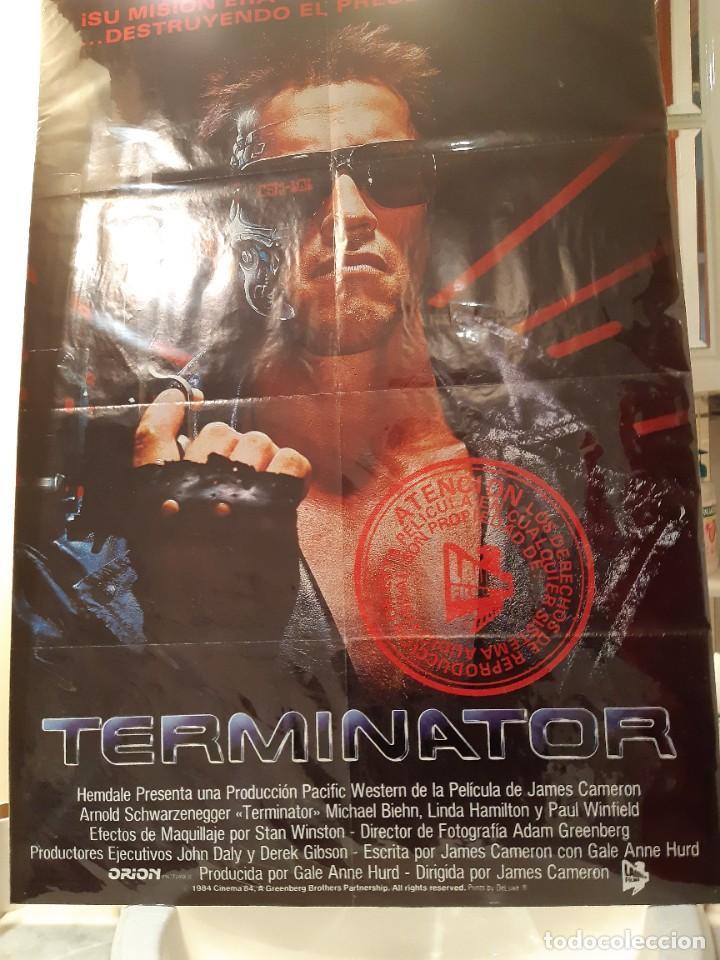 Cine: CARTEL TERMINATOR 1984 CINE POSTER PELICULA - Foto 7 - 268901099