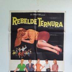 Cine: TEENAGE REBEL - REBELDE TERNURA CARTEL ORIGINAL 75 X 1110 GINGER ROGERS MICHAEL RENNIE. Lote 269004859