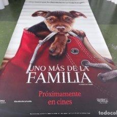 Cine: UNO MÁS DE LA FAMILIA - APROX 120X210 LONA/BANNER ORIGINAL CINE (X162). Lote 269169028