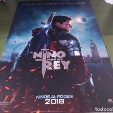 Cine: EL NIÑO QUE PUDO SER REY - APROX 120X210 LONA/BANNER ORIGINAL CINE (X166). Lote 269169788
