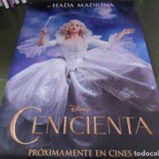 Cine: CENICIENTA - APROX 120X210 LONA/BANNER ORIGINAL CINE (X167). Lote 269169878
