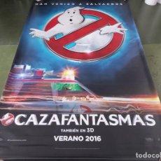 Cine: CAZAFANTASMAS - APROX 120X210 LONA/BANNER ORIGINAL CINE (X171). Lote 269170608