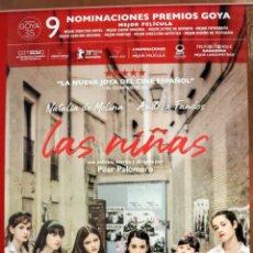 Cinema: PÓSTER DE LA PELÍCULA: LAS NIÑAS. Lote 269234303