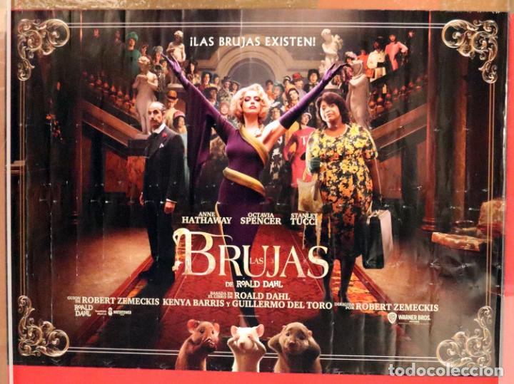 PÓSTER DE LA PELÍCULA: LAS BRUJAS (Cine - Posters y Carteles - Suspense)