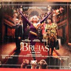 Cine: PÓSTER DE LA PELÍCULA: LAS BRUJAS. Lote 269234633