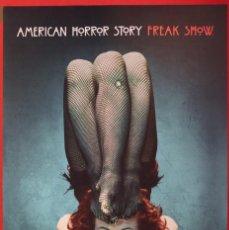 Cine: PÓSTER DE LA SERIE: AMERICAN HORROR STORY FREAK SHOW. Lote 269379543