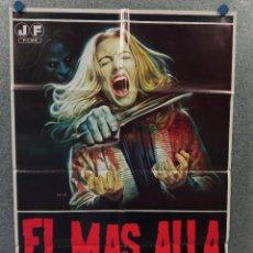 Cine: EL MÁS ALLÁ. CATRIONA KATHERINE MACCOLL, DAVID WARBECK, LUCIO FULCI - AÑO 1981. POSTER ORIGINAL. Lote 269380823