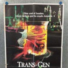 Cine: TRANS-GEN, LOS GENES DE LA MUERTE. AMANDA PAYS, DAVID ALLEN BROOKS POSTER ORIGINAL. Lote 269388518