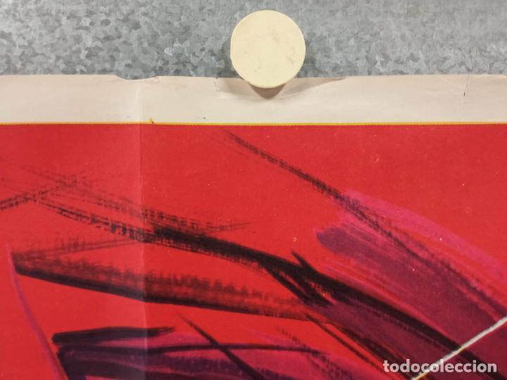 Cine: El carnicero. STEPHANE AUDRAN, JEAN VANNE, CLAUDE CHABROL. AÑO 1971. POSTER ORIGINAL - Foto 3 - 269464308