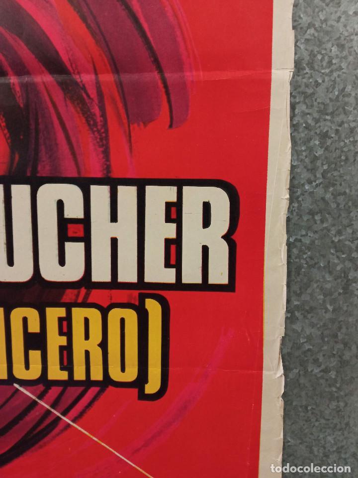 Cine: El carnicero. STEPHANE AUDRAN, JEAN VANNE, CLAUDE CHABROL. AÑO 1971. POSTER ORIGINAL - Foto 6 - 269464308