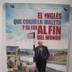 Cine: EL INGLES QUE COGIO LA MALETA Y SE FUE AL FIN DEL MUNDO. Lote 269777073
