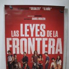Cine: LAS LEYES DE LA FRONTERA. Lote 269778058