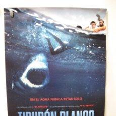 Cine: TIBURON BLANCO. Lote 269779163