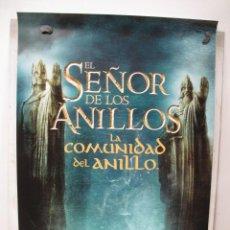 Cine: TRILOGIA EL SEÑOR DE LOS ANILLOS 2021 3 POSTER. Lote 269779508