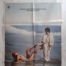 Cine: ANTIGUO CARTEL CINE 10 LA MUJER PERFECTA BO DEREK 1980 P106 RV. Lote 269939248