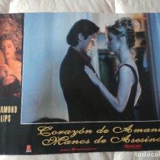 Cine: CORAZON DE AMANTE - MANOS DE ASESINO: LOU DIAMOND PHILLIPS. Lote 269941253
