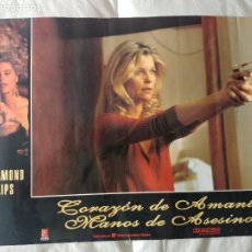 Cine: CORAZON DE AMANTE - MANOS DE ASESINO: LOU DIAMOND PHILLIPS. Lote 269941683