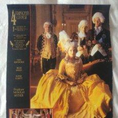Cine: LA LOCURA DEL REY JORGE: NIGEL HAWTHORNE - HELEN MIRREN. Lote 269943633
