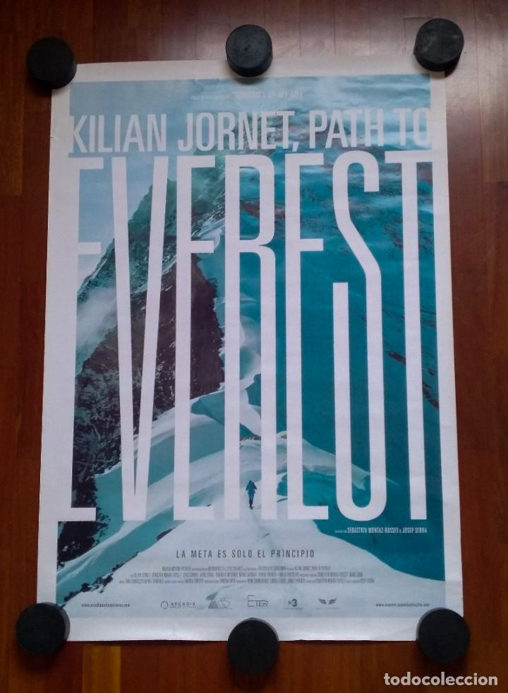 POSTER KILIAN JORNET PATH TO EVEREST 2017 SUMMITS OF MY LIFE CARTEL ALPINISMO MONTAÑA RUNNING NEPAL (Cine - Posters y Carteles - Deportes)