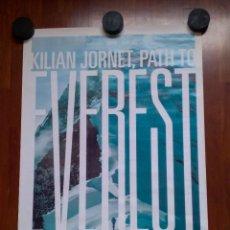 Cine: POSTER KILIAN JORNET PATH TO EVEREST 2017 SUMMITS OF MY LIFE CARTEL ALPINISMO MONTAÑA RUNNING NEPAL. Lote 269981803