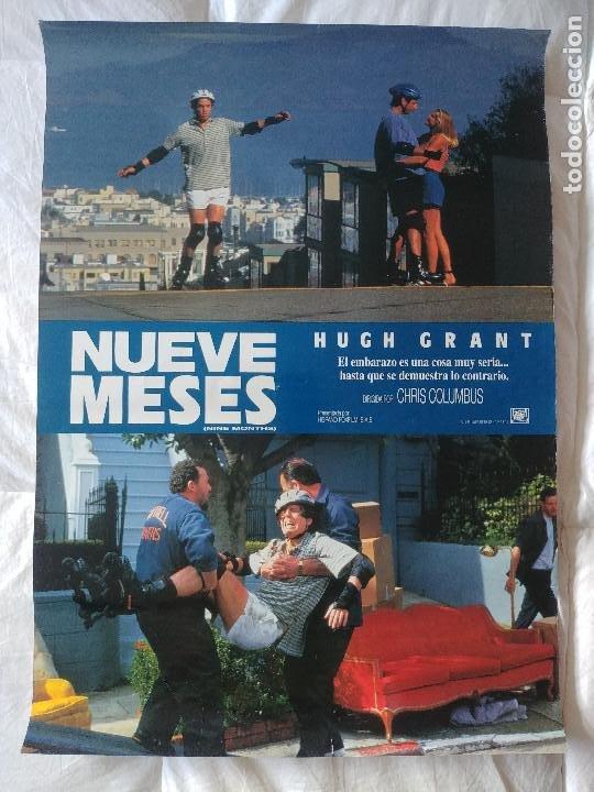NUEVE MESES: HUGH GRANT (Cine- Posters y Carteles - Drama)