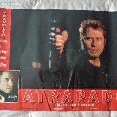 Cine: ATRAPADO: JOHN TRAVOLTA. Lote 270121743