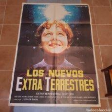 Cine: CARTEL ORIGINAL DE LOS NUEVOS EXTRA TERRESTRES, 100 X 70 CM. PLEGADO.. Lote 270250583