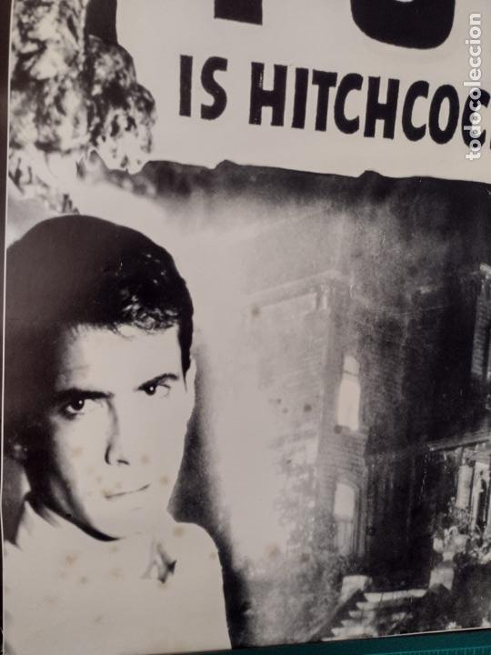Cine: POSTER PSICOSIS-THE BIG NEWS IS THAT PSYCHO IS HITCHCOCK´S GREATEST CHILLER! - 88X62 CMS - Foto 3 - 270392418